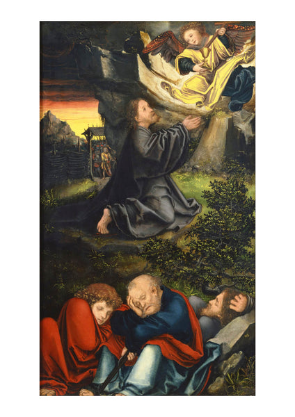 Lucas Cranach The Elder - The Garden Of Gethsemane