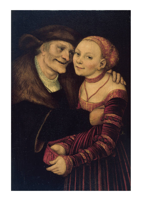 Lucas Cranach The Elder - The Ill-Matched Couple