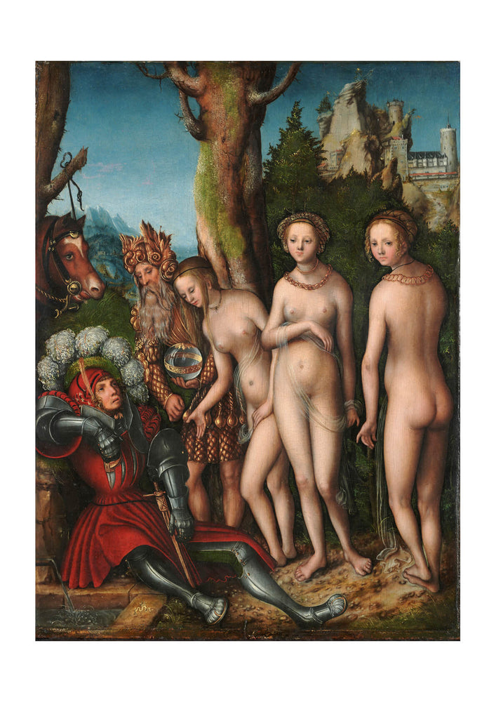 Lucas Cranach The Elder - The Judgment Of Paris