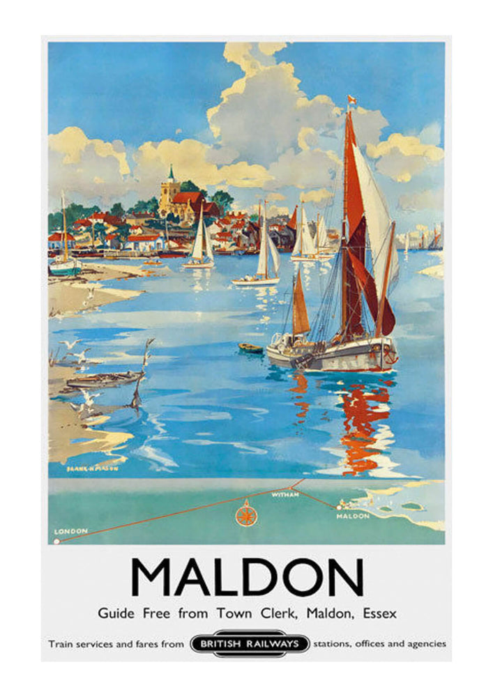Maldon Essex British Railways