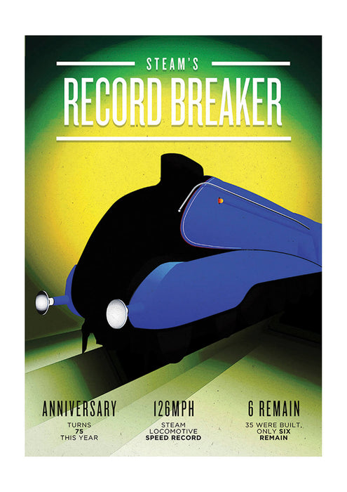 Mallard Steams Record Breaker