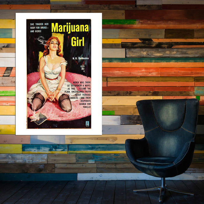 Marijuana Girl Book