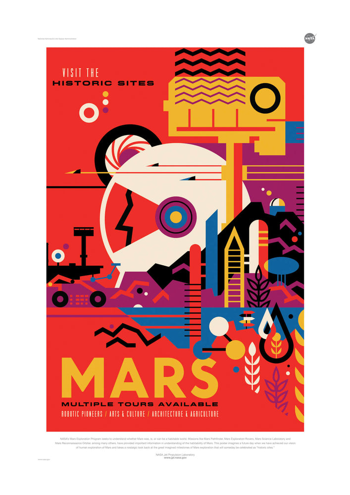 Mars NASA Space Tourism