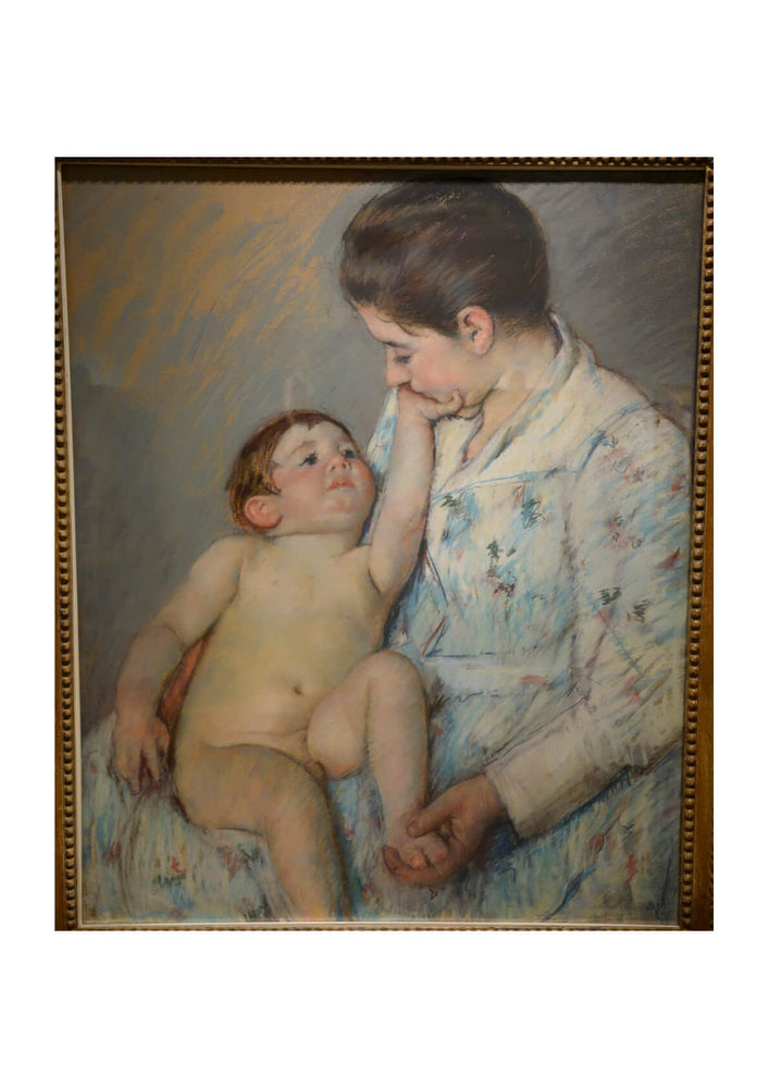 Mary Cassatt - A Caress