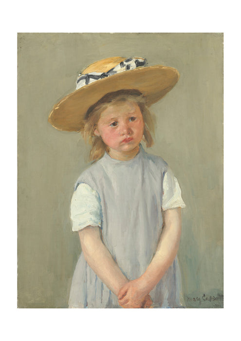Mary Cassatt - Child in a Straw Hat