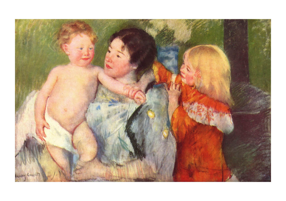 Mary Cassatt - Girls