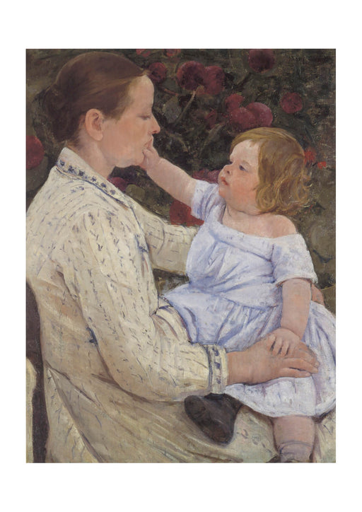 Mary Cassatt - The Child's Caress