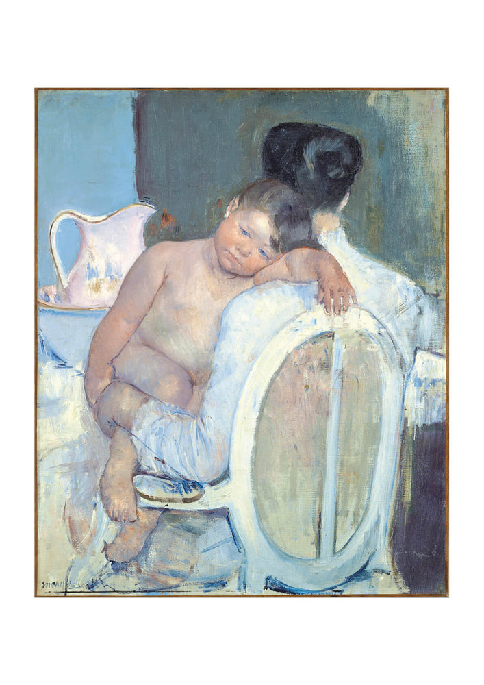 Mary Cassatt - Woman Sitting with a Child in Her Arms