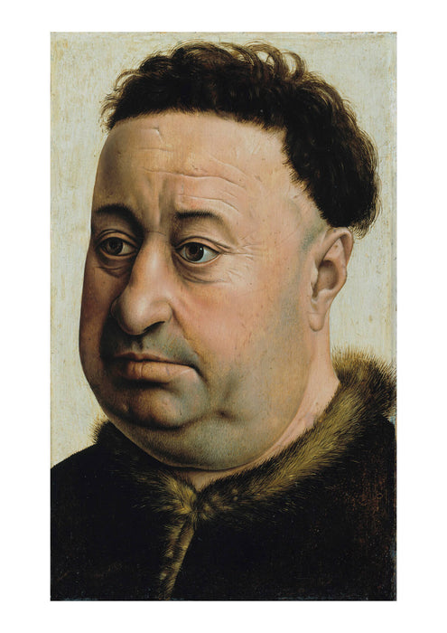 Master Of Flémalle - Portrait Of A Fat Man