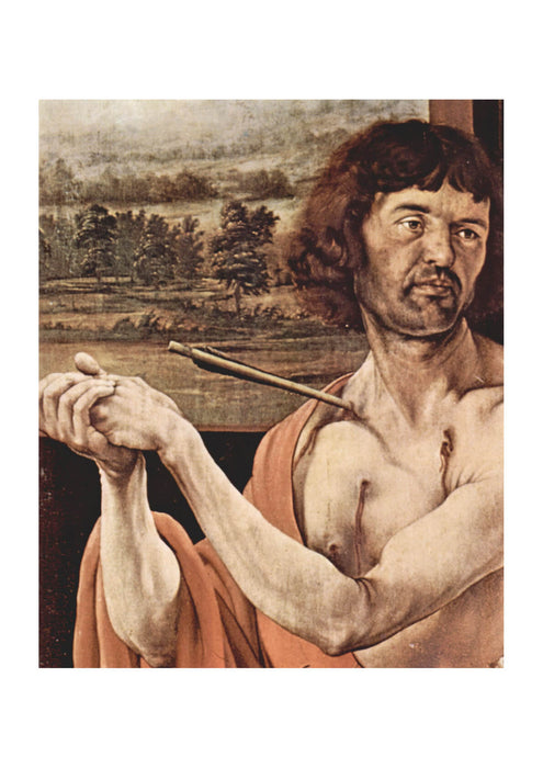 Matthias Grunewald - Impaled with Arrow