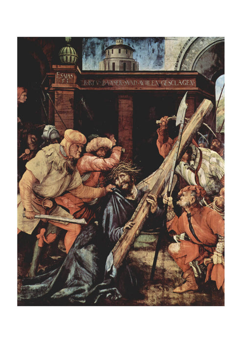 Matthias Grunewald - Putting Jesus to the Cross