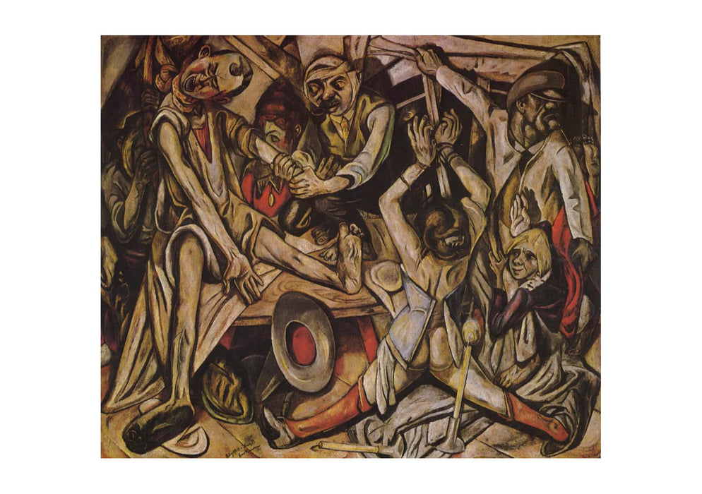 Max Beckmann Night