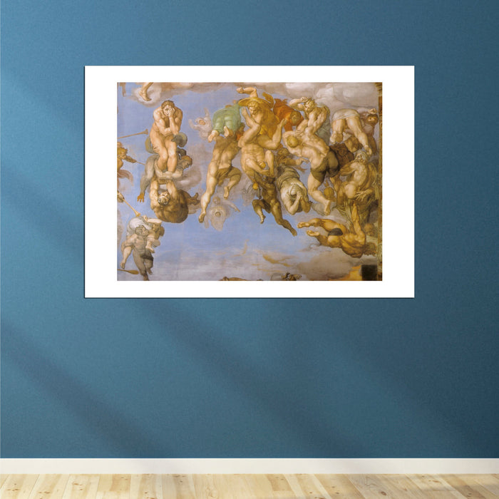 Michelangelo - Angels Wall Mural