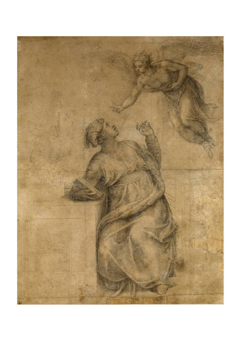 Michelangelo - Annunciation to the Virgin
