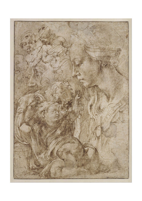 Michelangelo - Holy Family