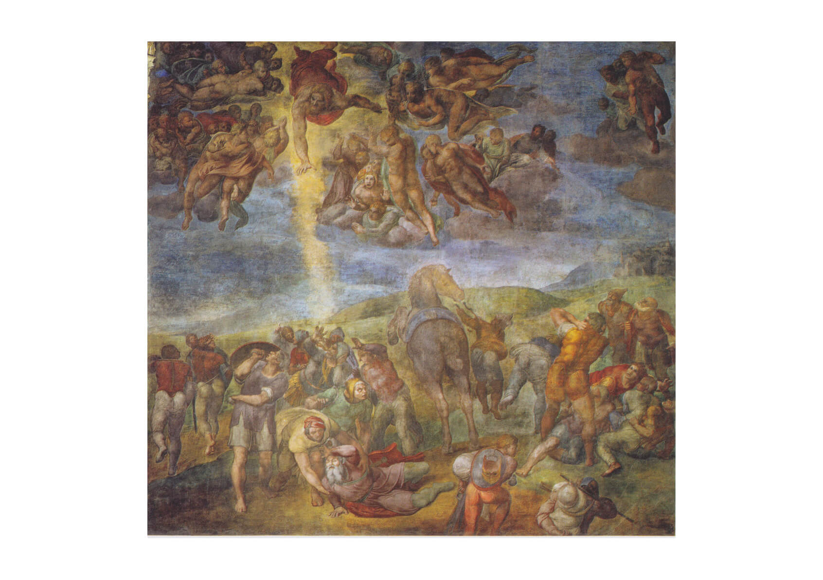 Michelangelo - Men and Angels