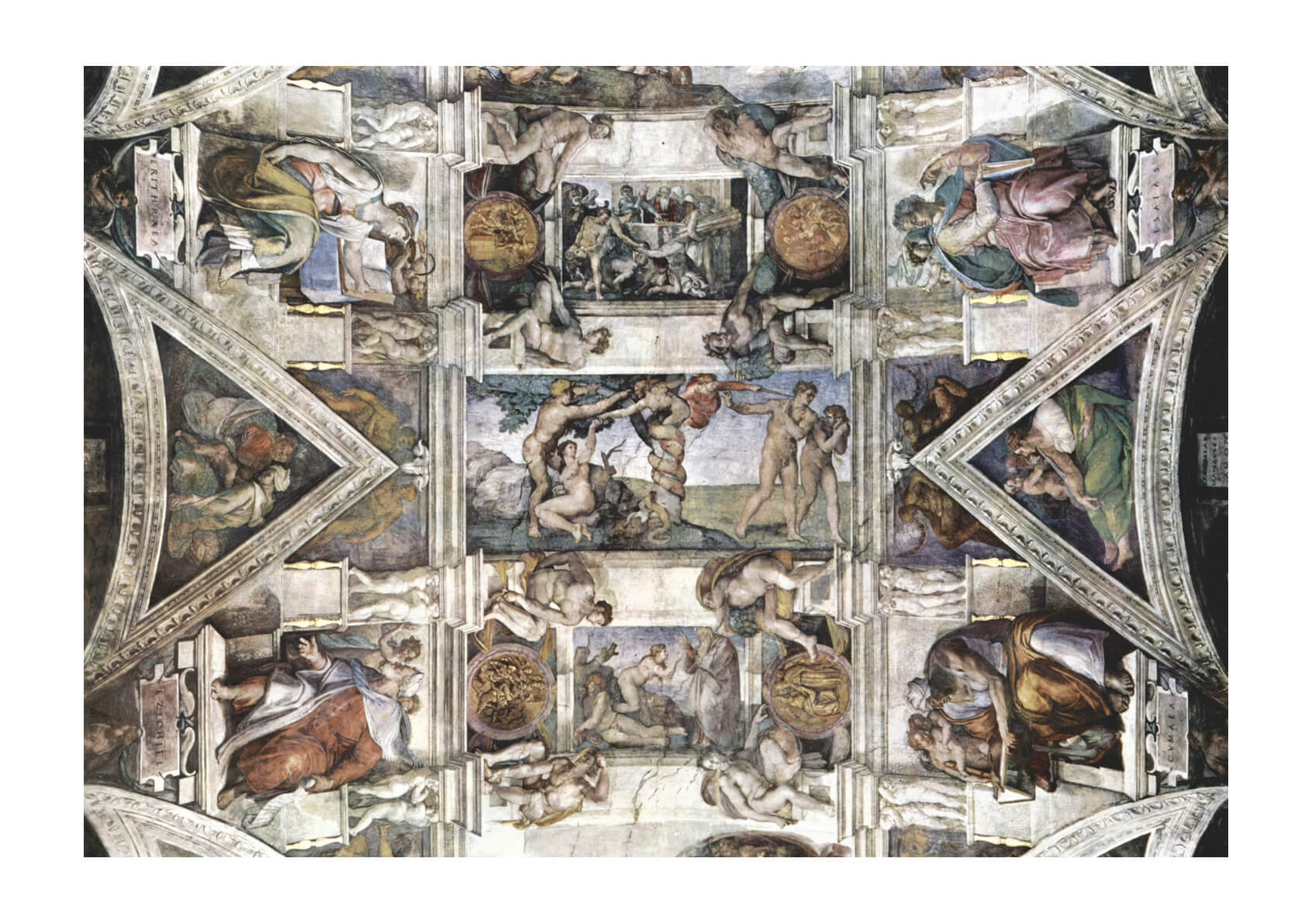 Michelangelo - Sistine Chapel Section 4