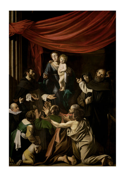 Michelangelo Merisi called Caravaggio Madonna of the Rosary