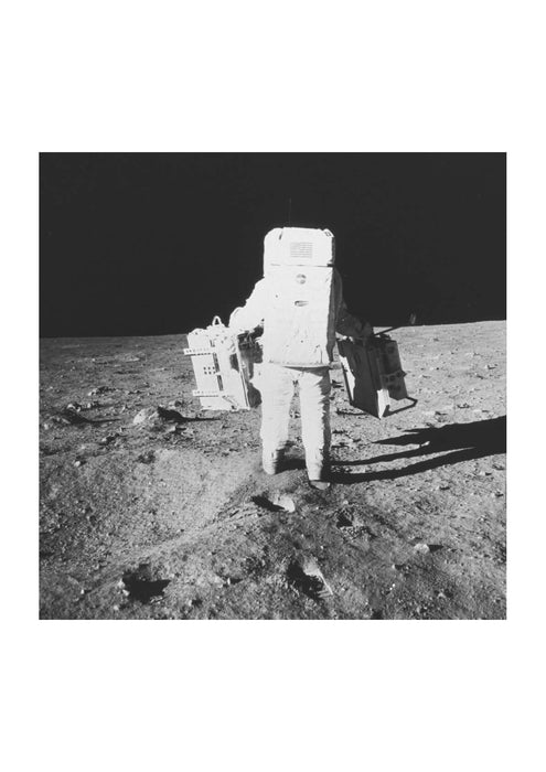 NASA - Apollo 11 Moon Walking