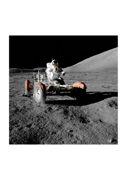 NASA - Apollo 17 Lunar Roving Vehicle