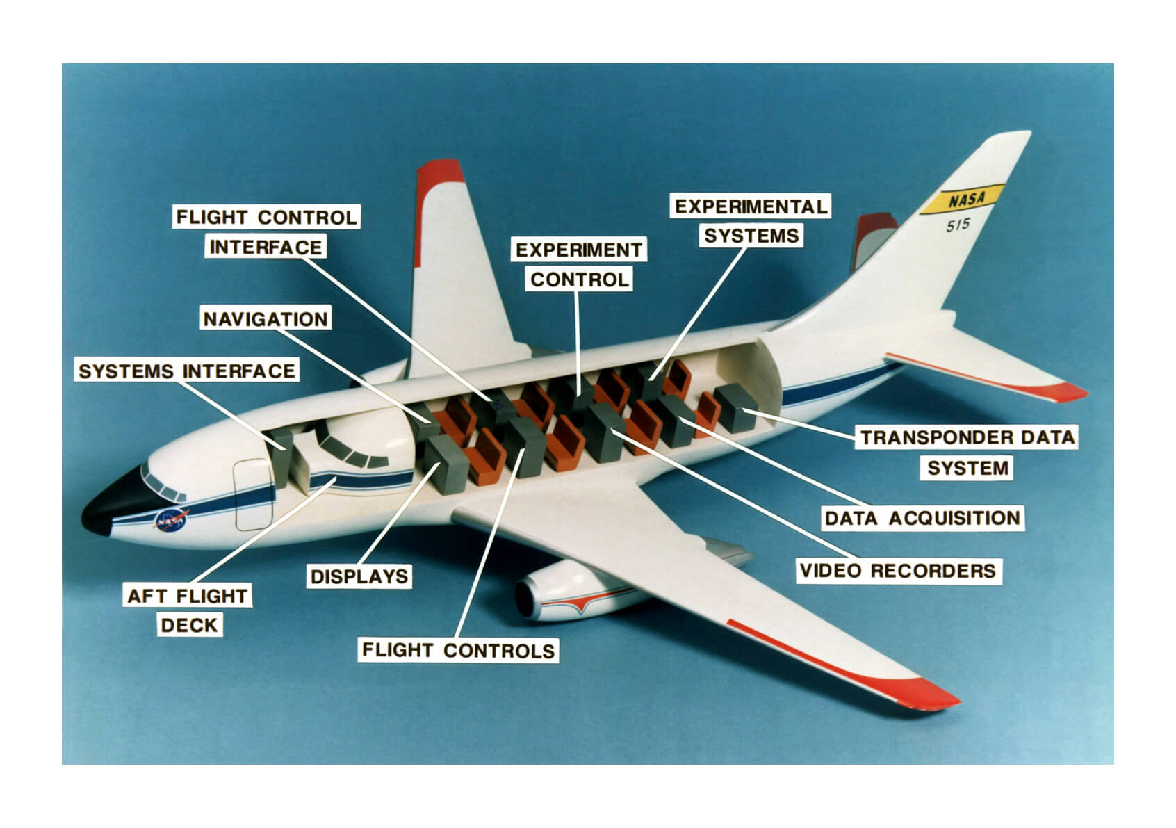 NASA - Cutaway Model of B-737