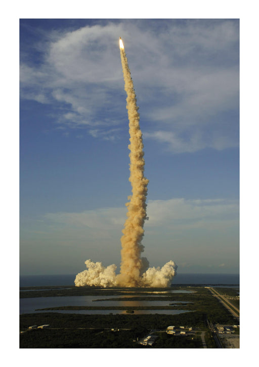 NASA - Space Shuttle Atlantis launching