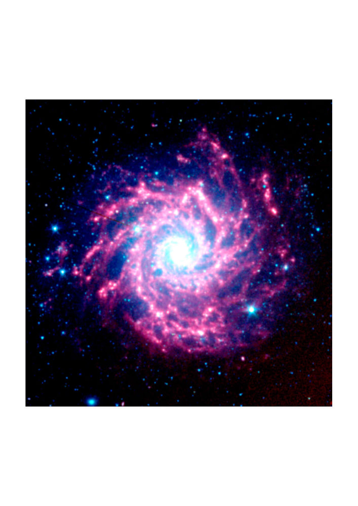 NASA - Spitzer Space Telescope M74