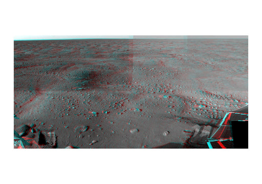 NASA - Stereoscopic 3D view of Mars