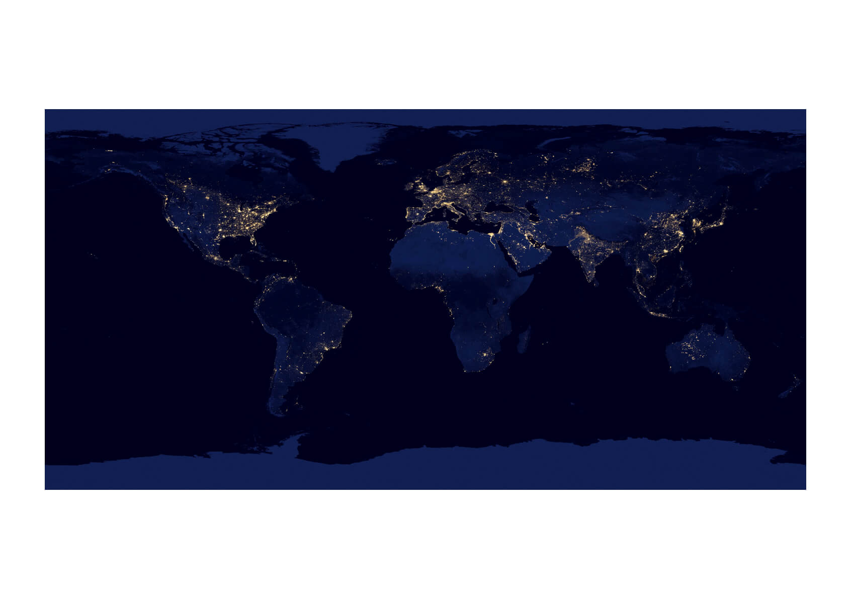 NASA - World Lights from Space