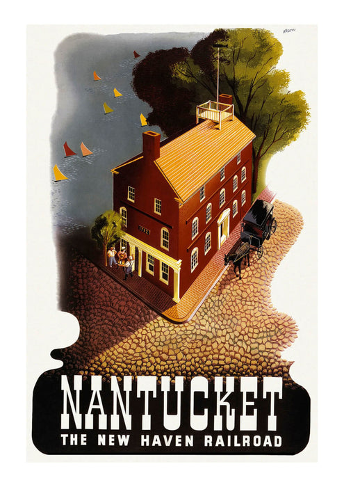 Nantucket The New Haven Railroad