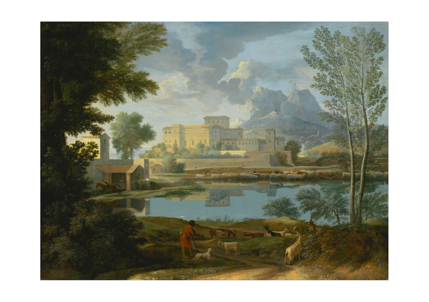 Nicolas Poussin (French Landscape with a Calm