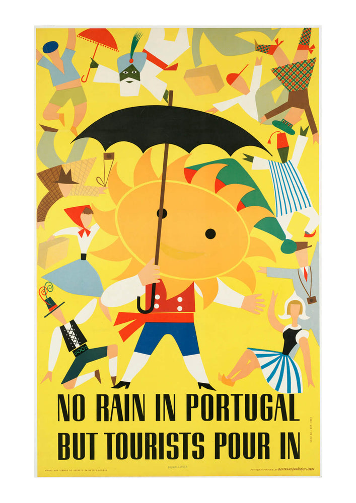 No Rain In Portugal But Tourists Pour In