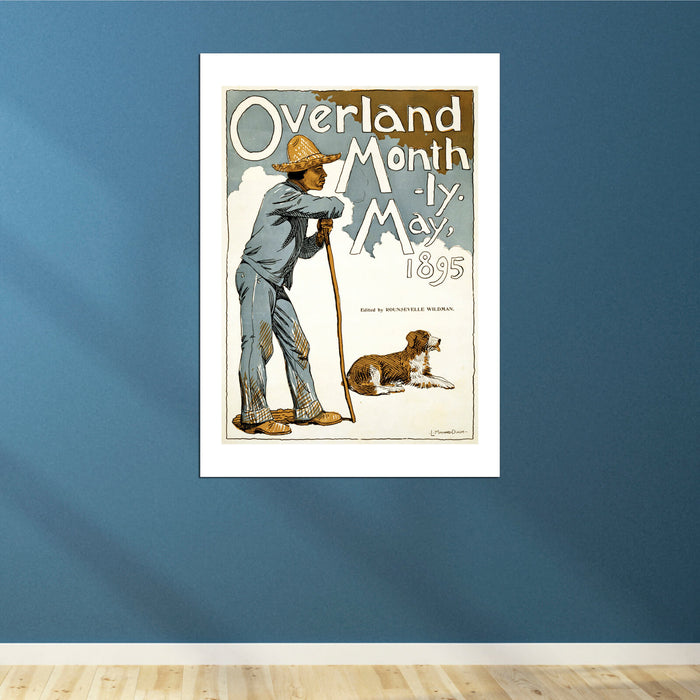 Overland Monthly magazine cover 1895