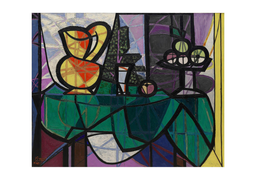 Pablo Picasso - Pitcher And Bowl of Fruit