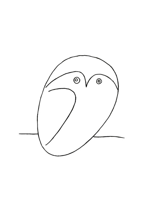 Pablo Picasso - Small Owl
