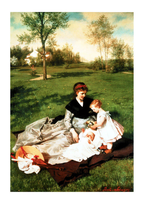 Pal Szinyei Merse - Picnic on Field