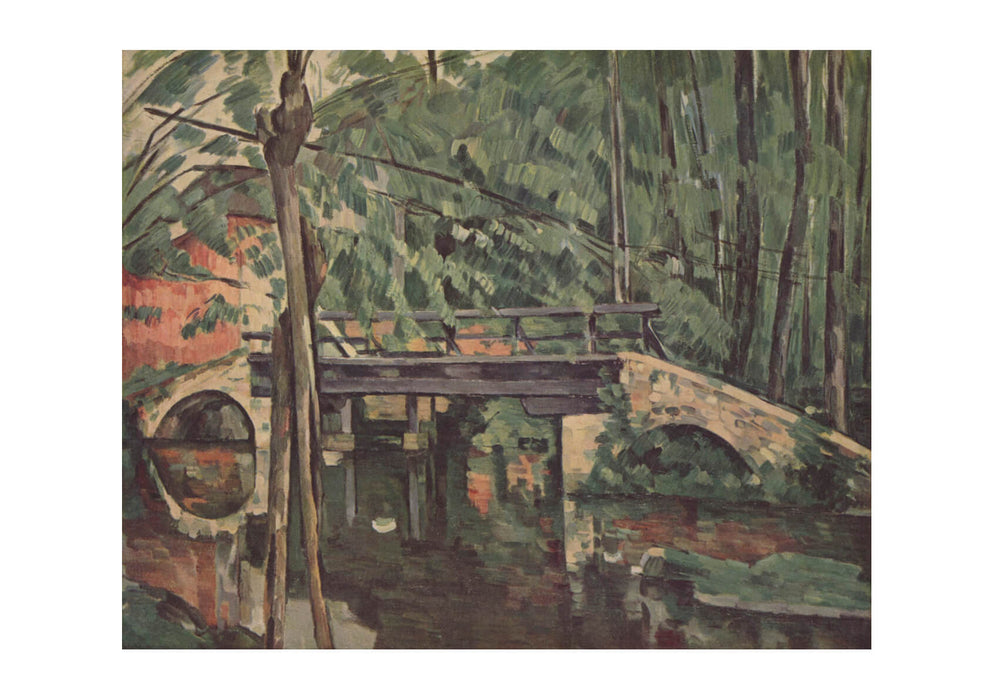 Paul Cezanne - A Bridge