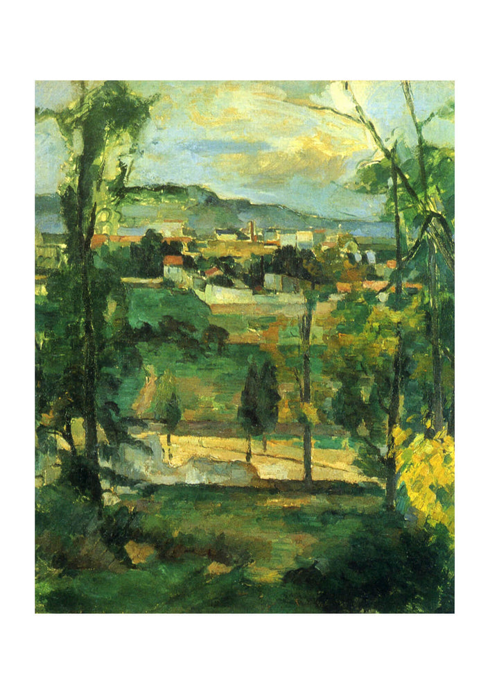 Paul Cezanne - Across the Fields