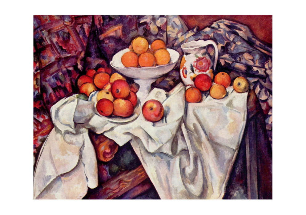 Paul Cezanne - Apples in a Sheet