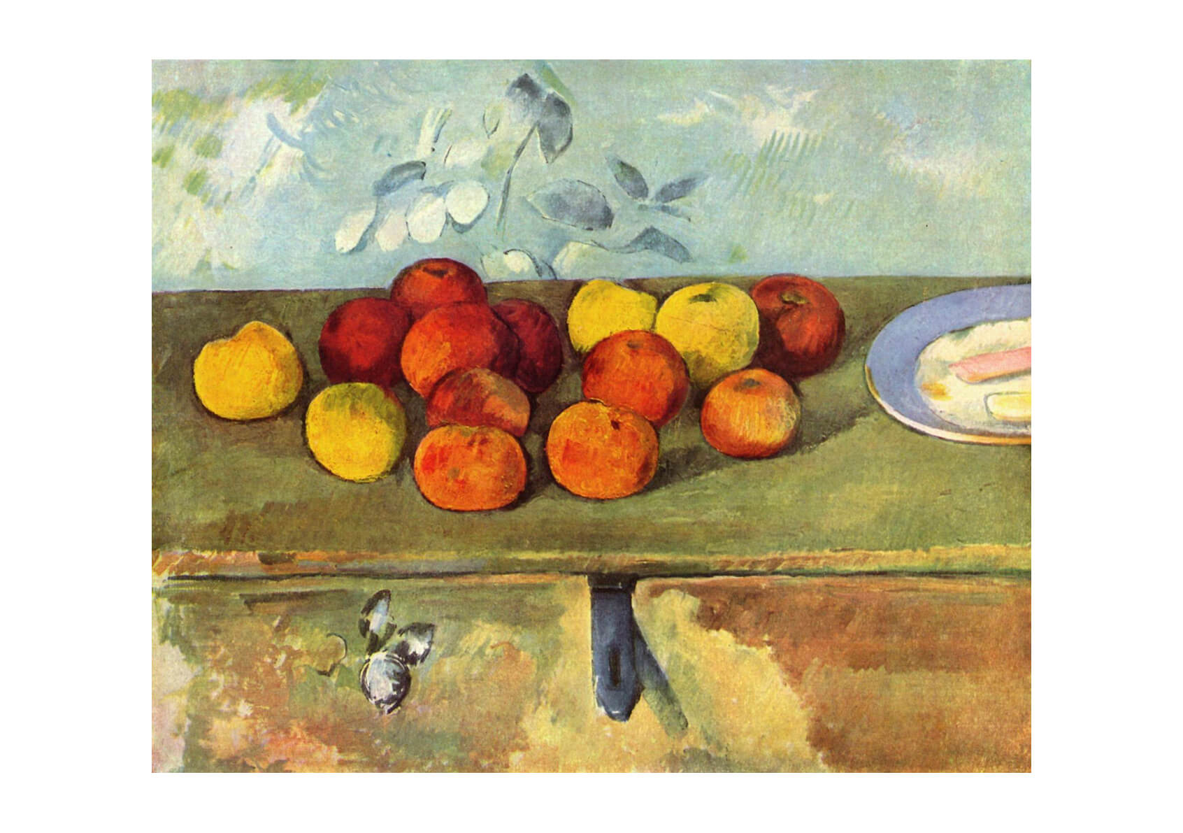 Paul Cezanne - Apples on the Table