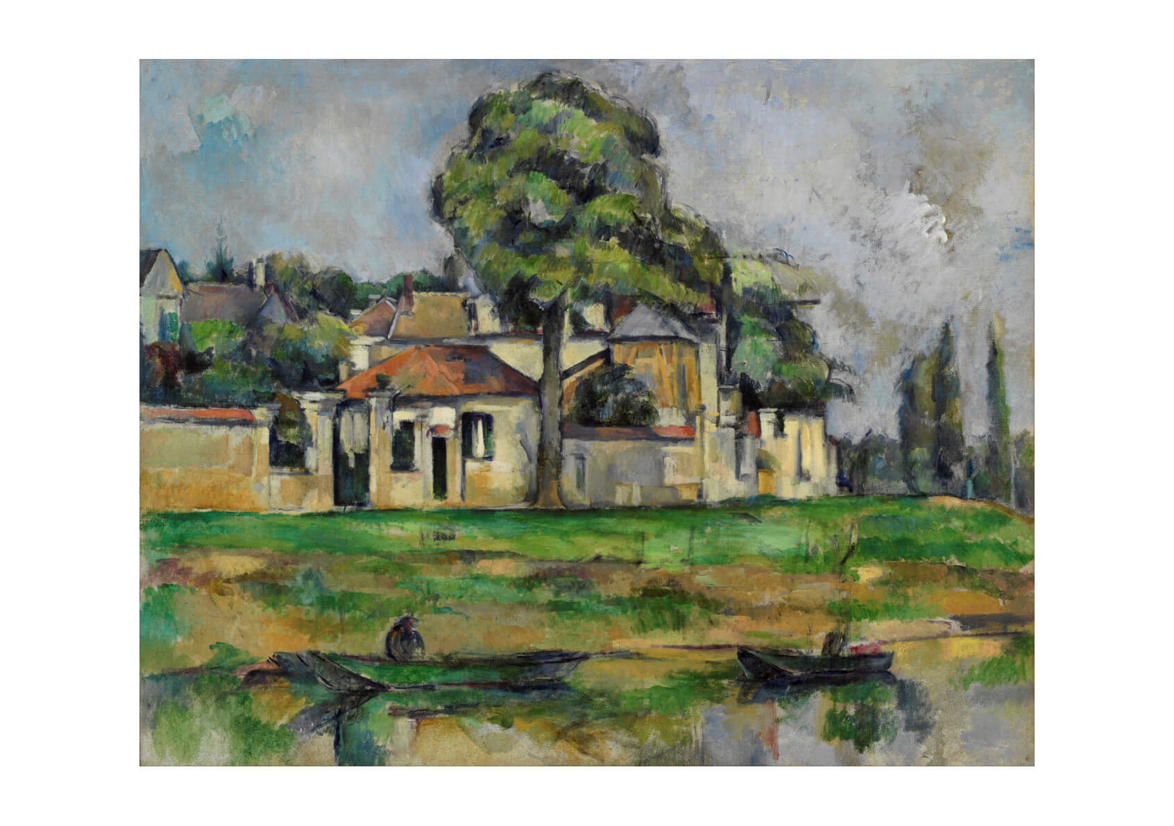 Paul Cezanne - Banks of the Marne