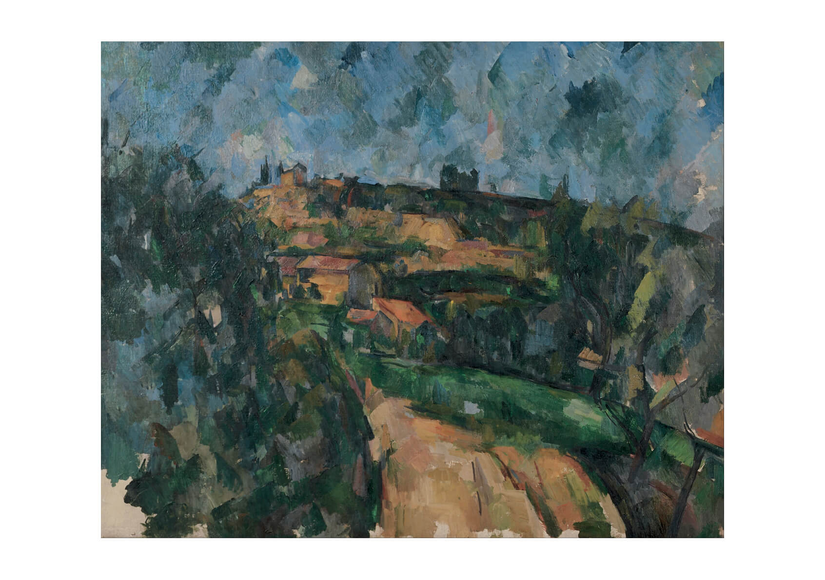 Paul Cezanne - Bend Of The Road
