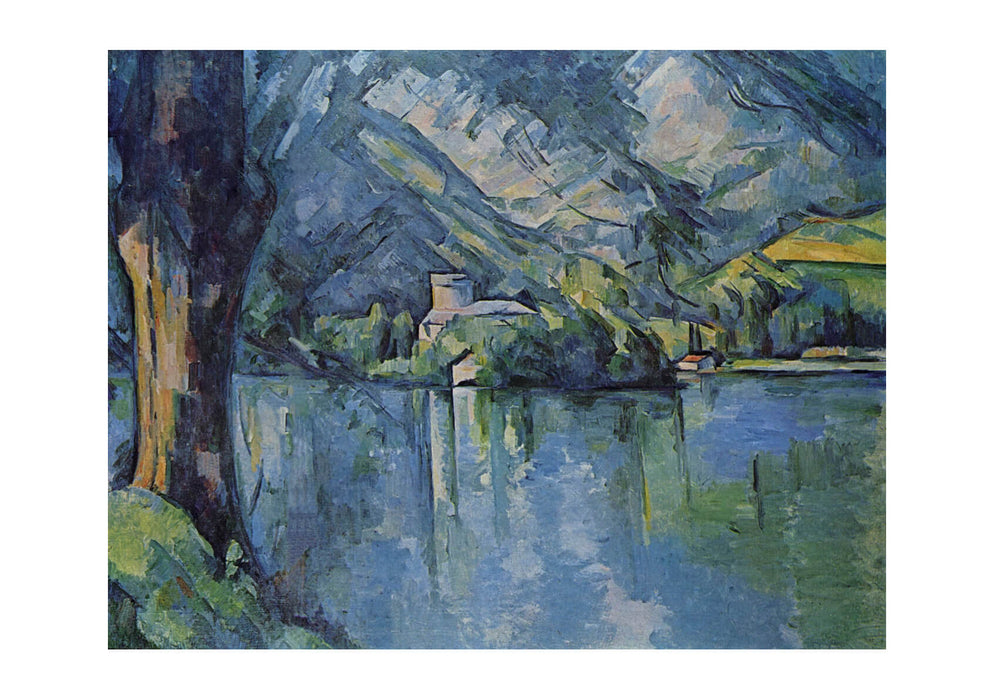 Paul Cezanne - Blue River