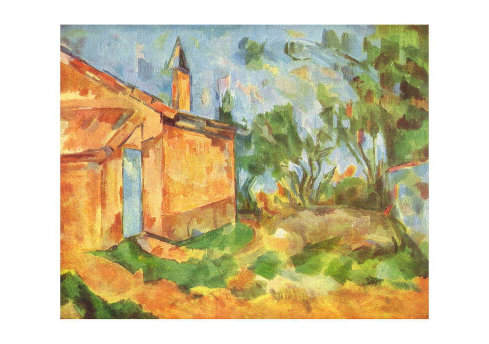 Paul Cezanne - Bright House
