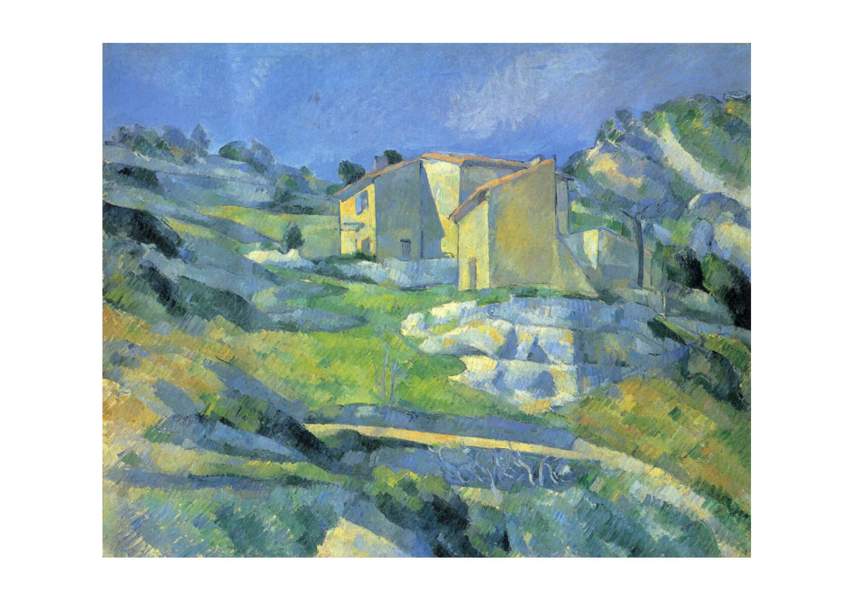 Paul Cezanne - Built on a Hill