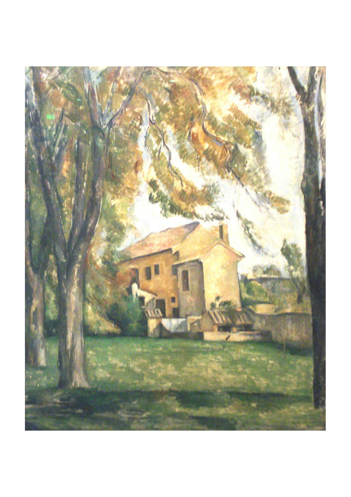 Paul Cezanne - Farmhouse and Chestnut Trees