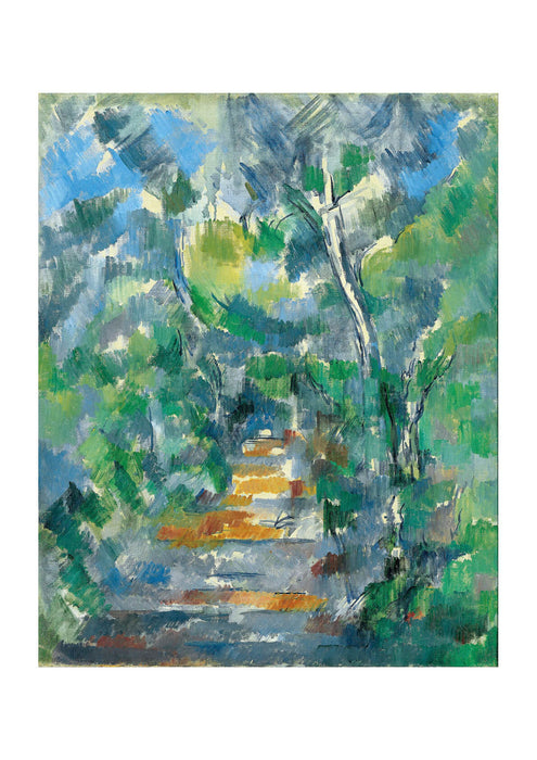 Paul Cezanne - Forest Scene