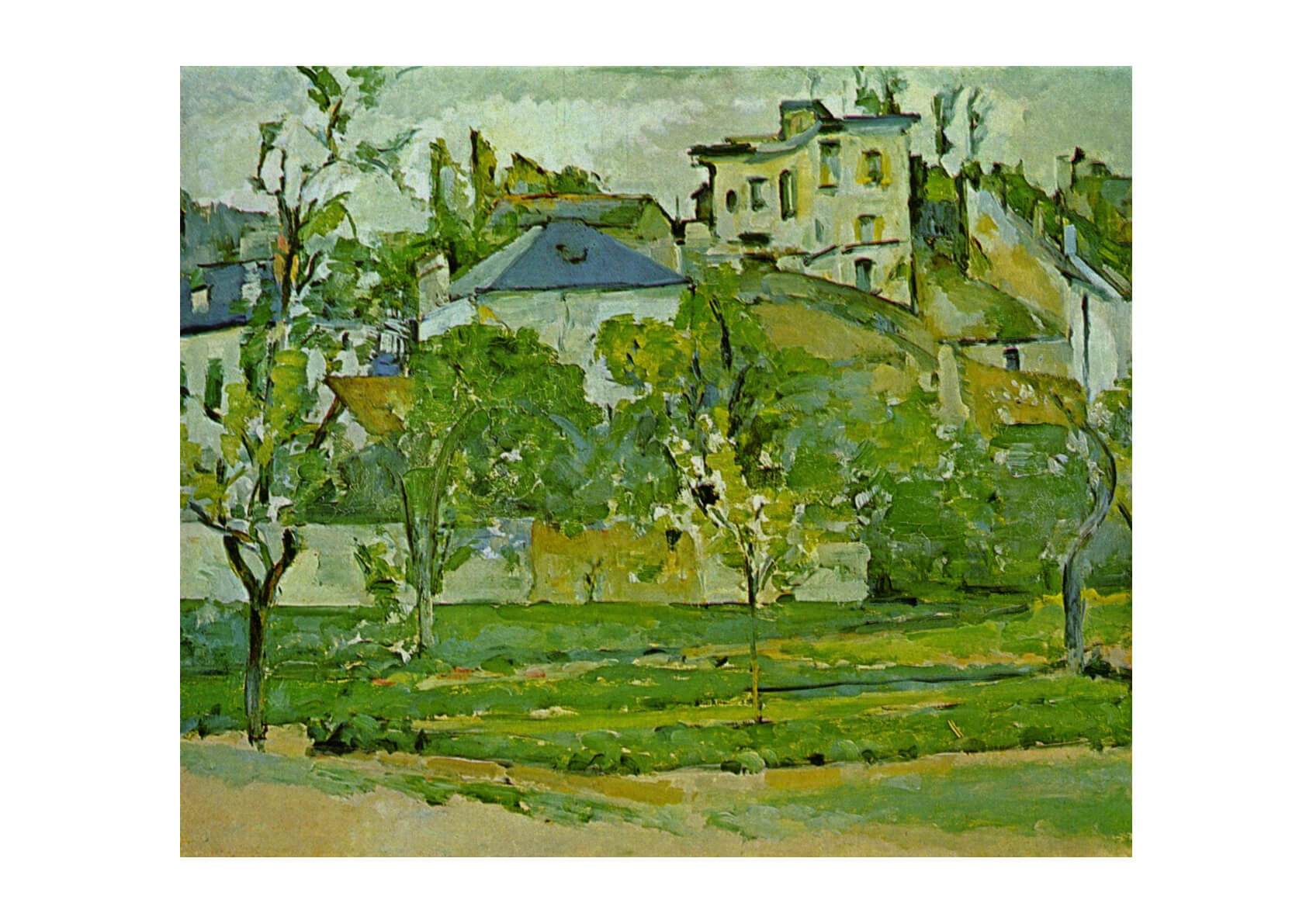 Paul Cezanne - Green Scene