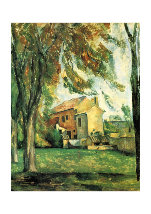 Paul Cezanne - Haning out the Washing