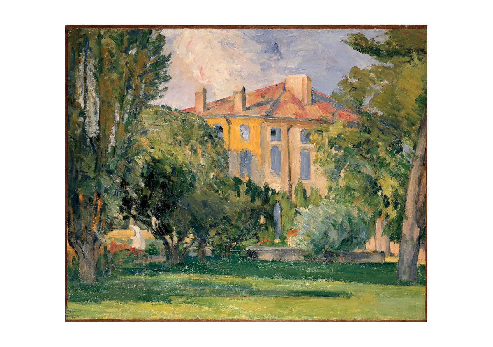 Paul Cezanne - House of the Jas de Bouffan